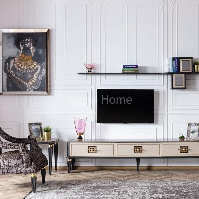 Gold Tv Table